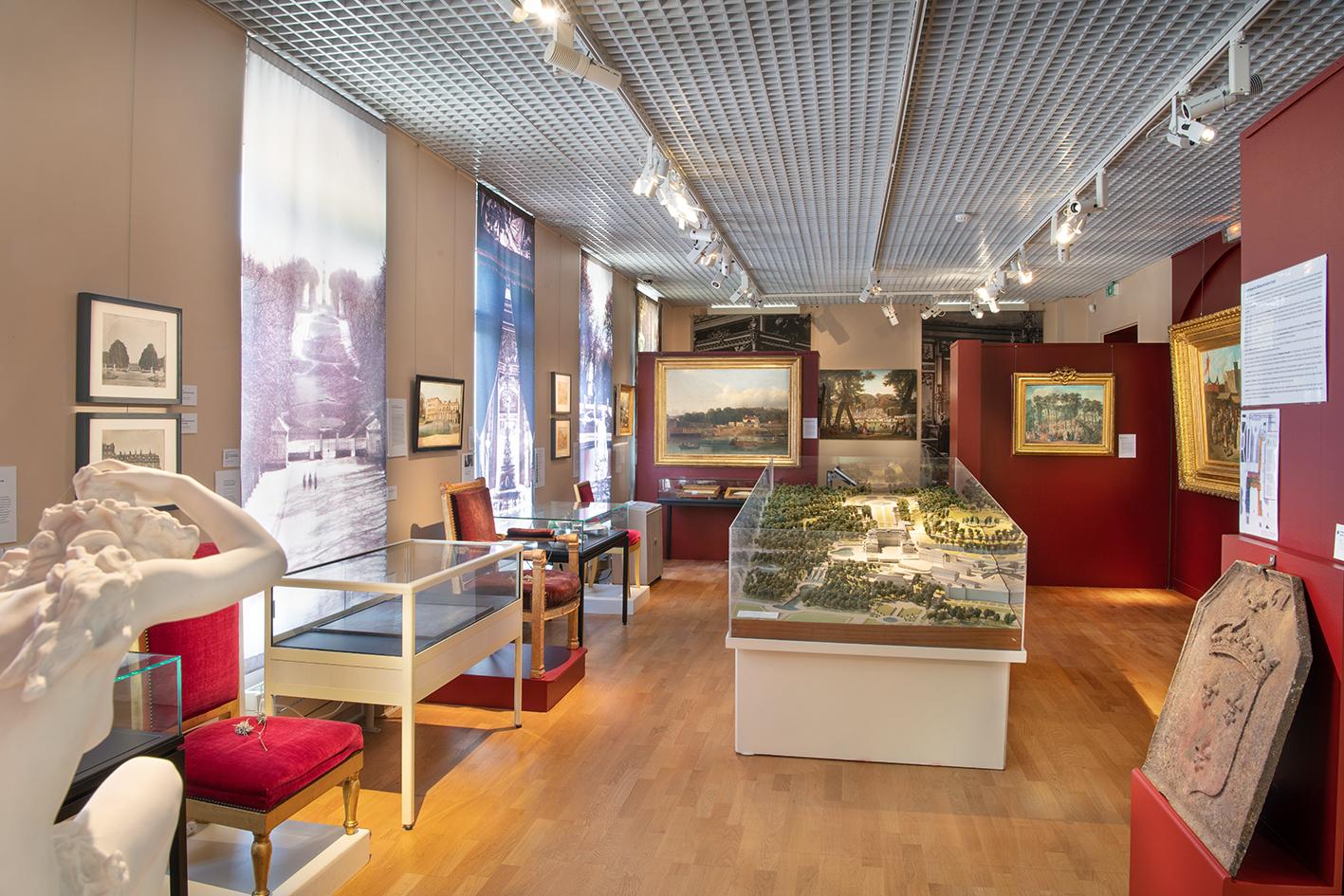 Salle des collections permanentes