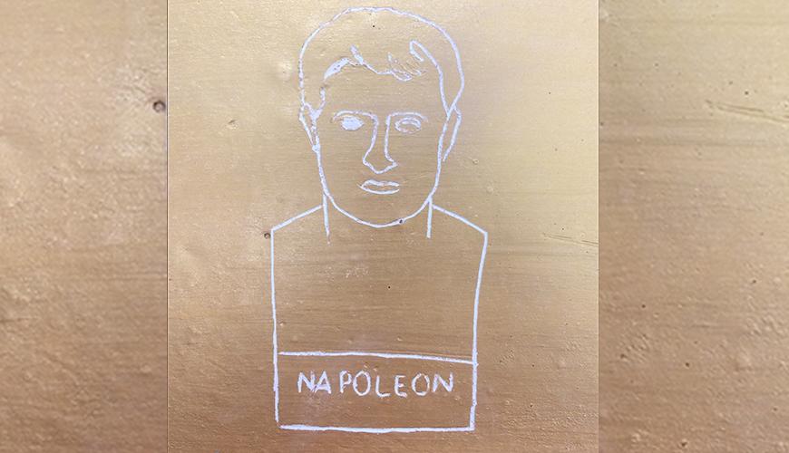 Médaille gravée Napoléon